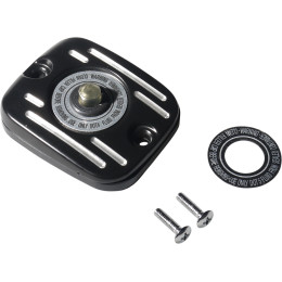 Black Master Cylinder Cover for '05 - '17 Big Twin