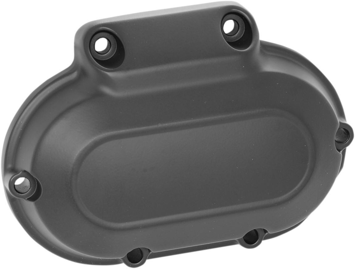 TRANSMISSION SIDE COVER BLACK TWIN CAM 07-14