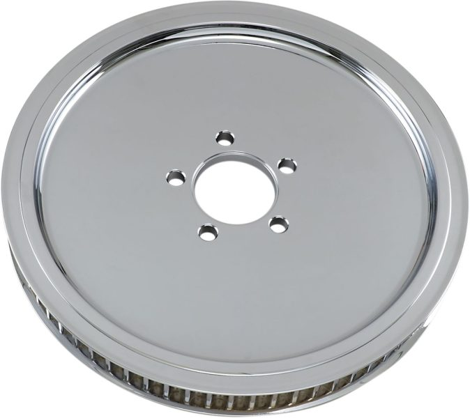 REAR BELT PULLEY SMOOTH CHROME 70T