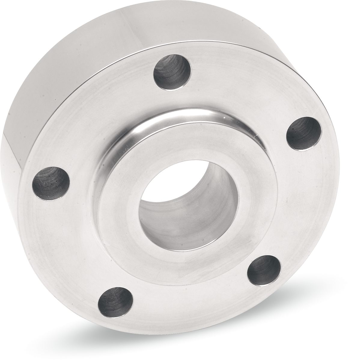 """REAR BELT PULLEY SPACER 1.250"""" CHROME"""