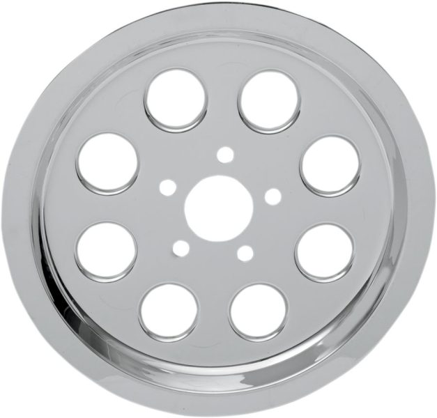 REAR BELT PULLEY COVER CHROME 70T