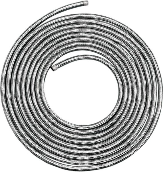"""STAINLESS STEEL BRAIDED HOSE 5/16""""X6'"""